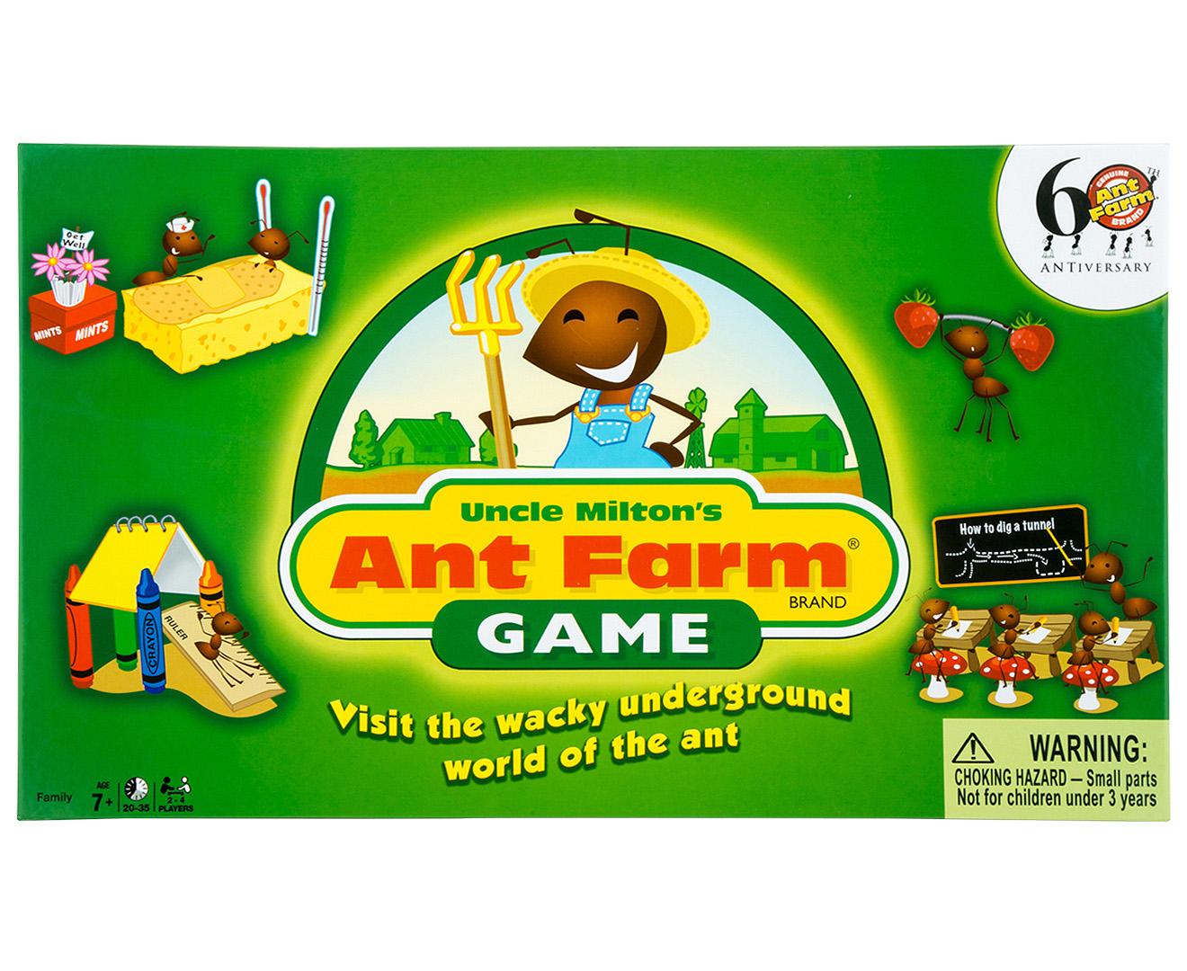 milton ant farm instructions