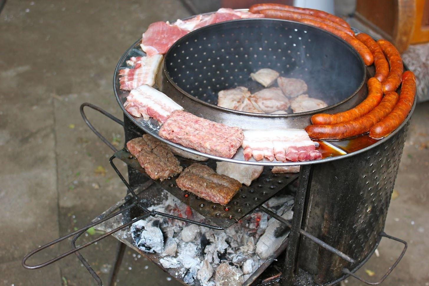 mini weber grill instructions