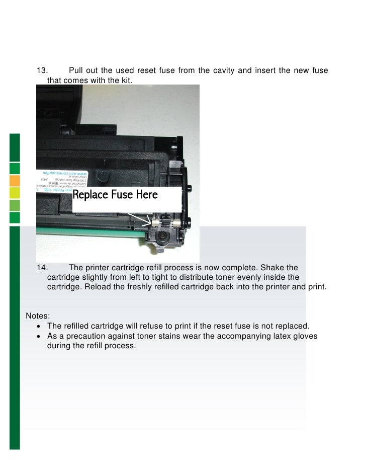 ml 2510 toner refill instructions