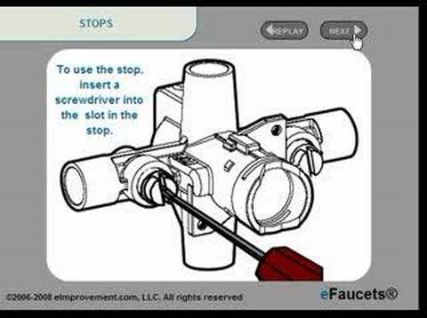 moen 63170 valve instructions