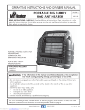 mr heater big buddy instructions