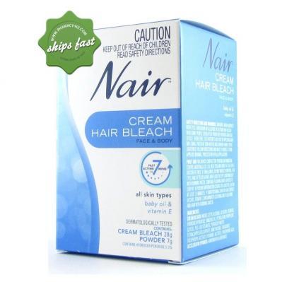 nair face cream instructions
