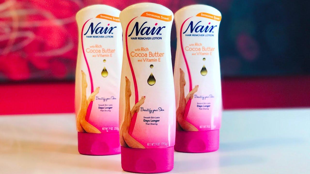 nair hair removal lotion instructions