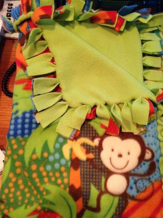 new sew blanket instructions