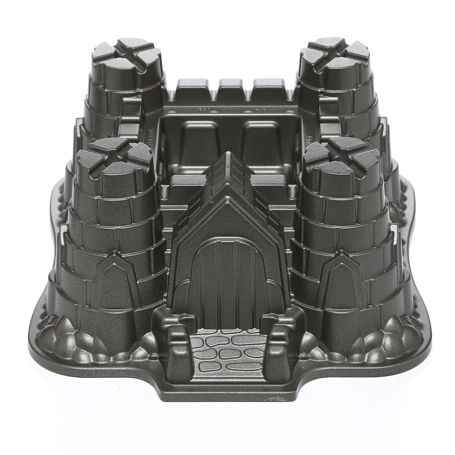 nordic ware castle bundt pan instructions