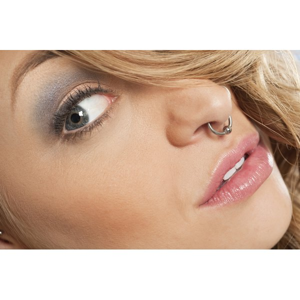 nose piercing care instructions