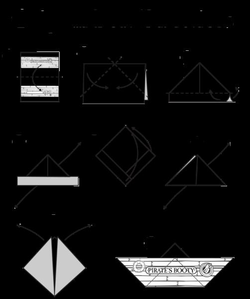 origami boat instructions pdf