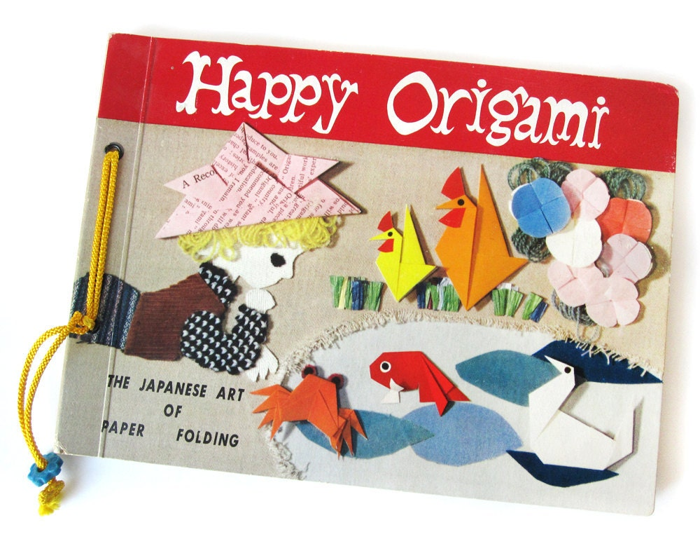 origami book folding instructions