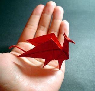 origami dragon boat instructions