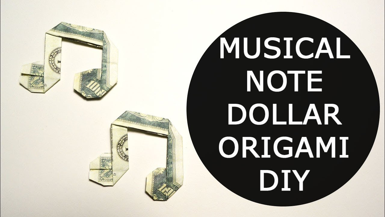 origami music note instructions