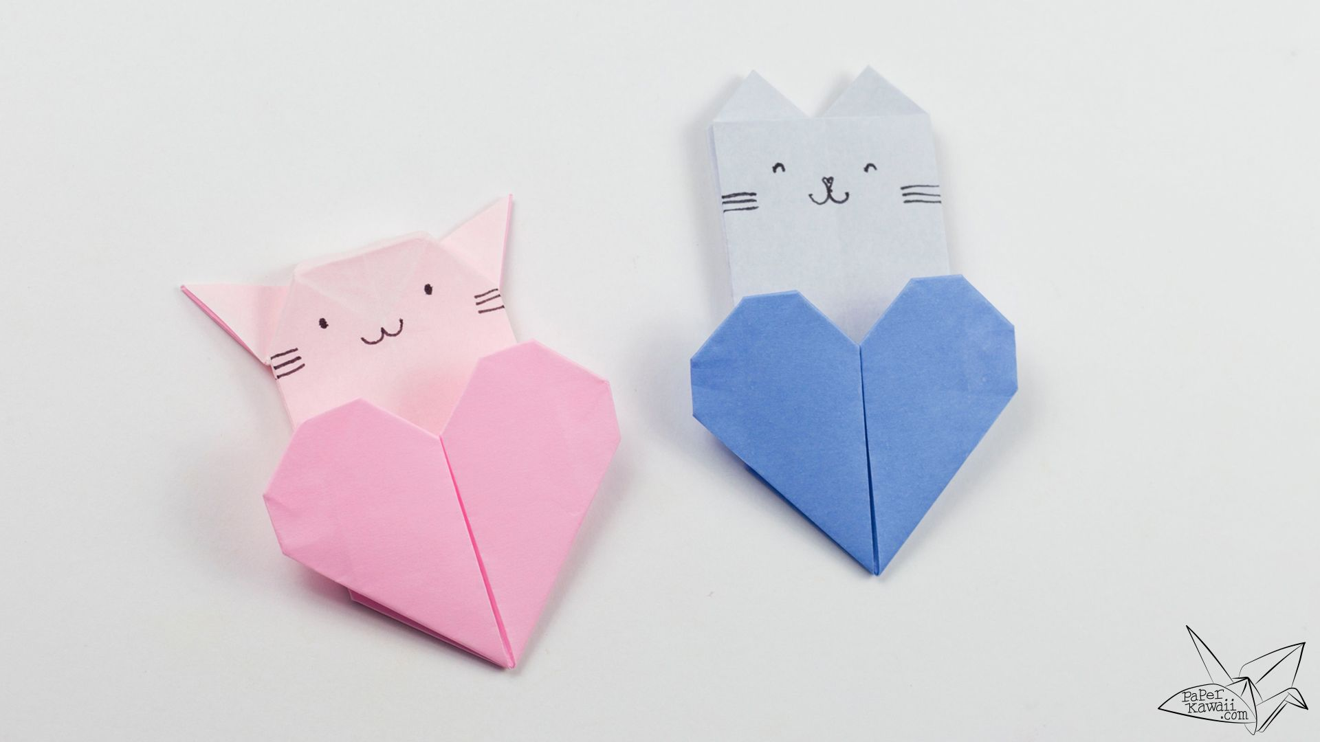 origami sitting cat instructions