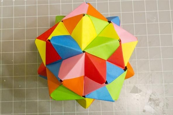 origami transforming cube instructions