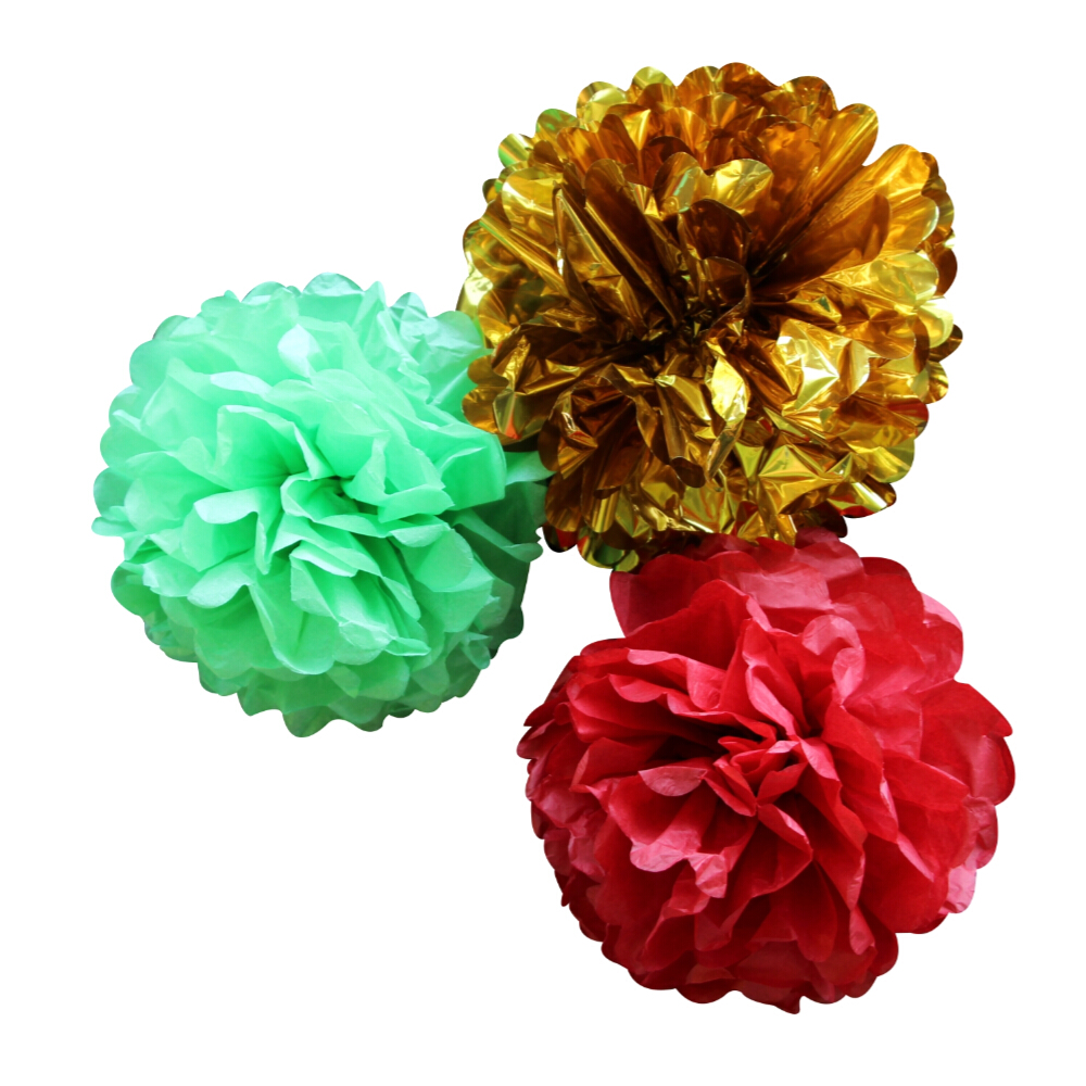 paper ball decorations instructions