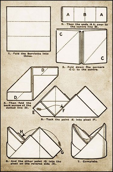 paper hat folding instructions