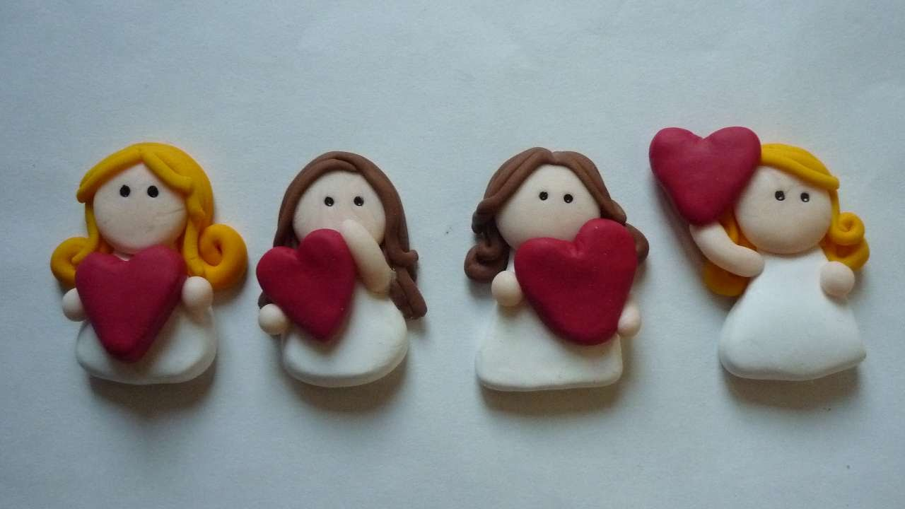 pasta angel ornament instructions