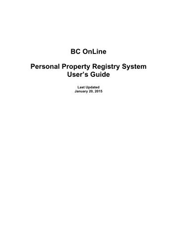 personal property consignment instruction guide