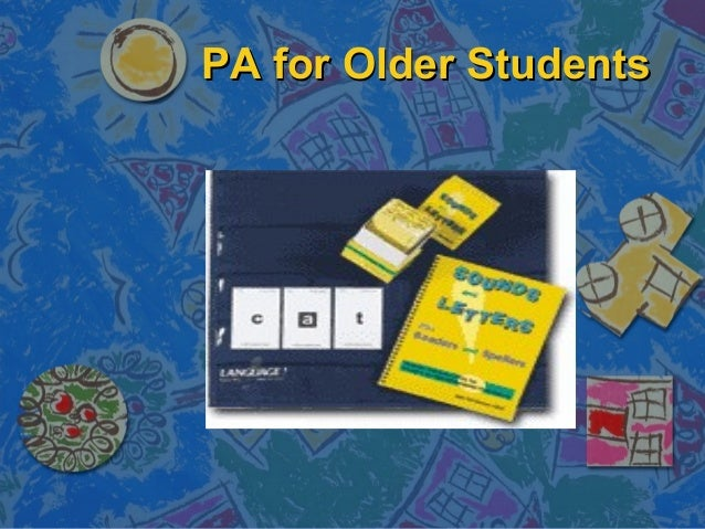 phonics instruction for older students