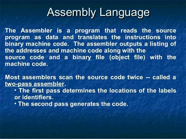 pic assembly language instruction set