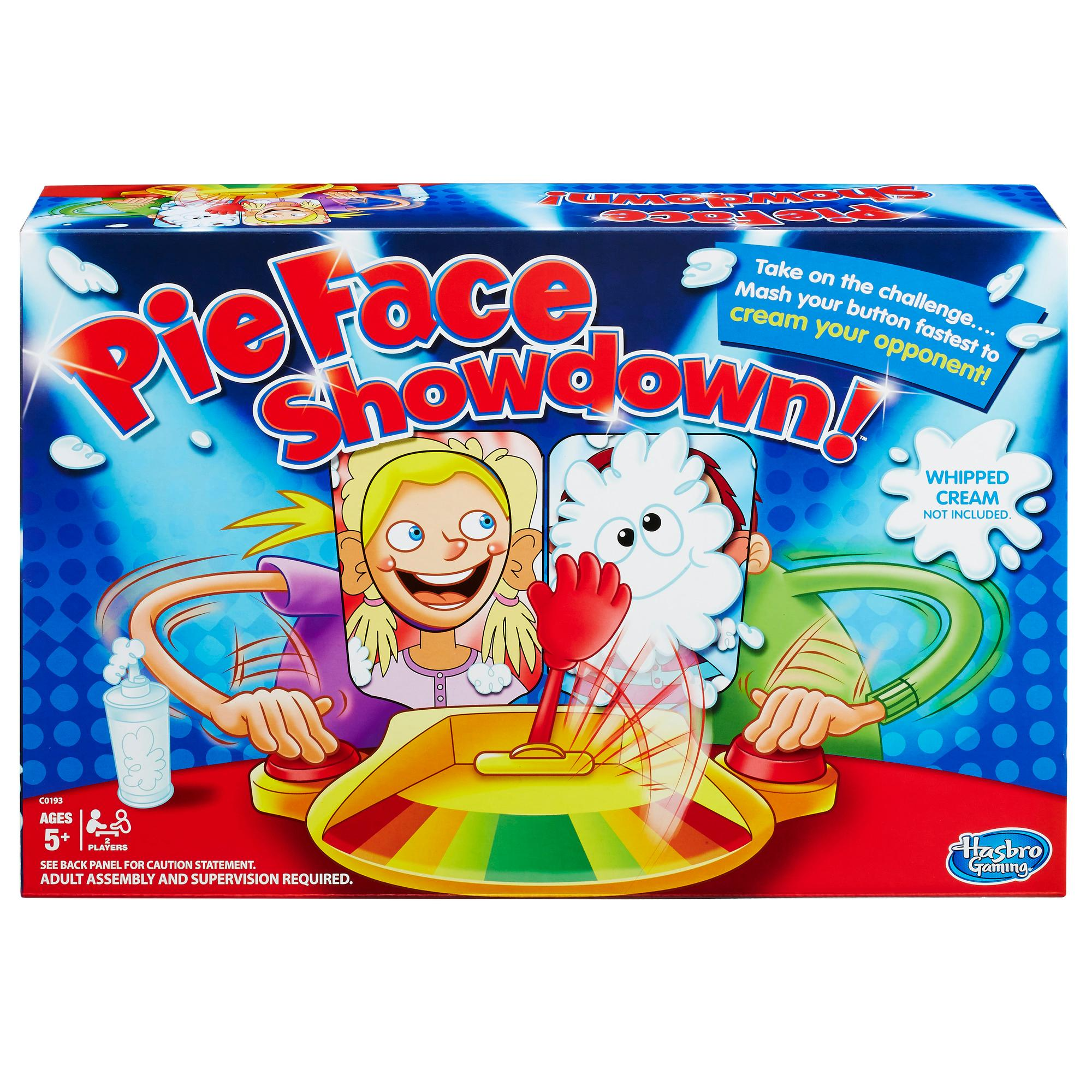 pie face showdown instructions