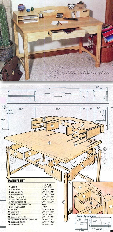 pier 1 tool free desk instructions
