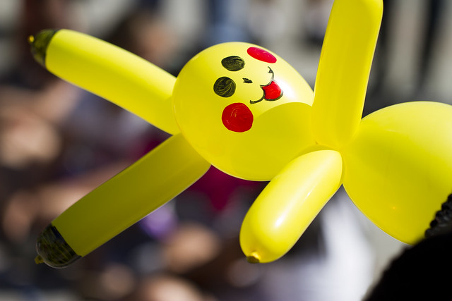 pikachu balloon animal instructions