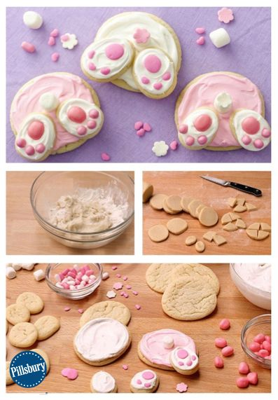 pillsbury frozen cookie dough instructions