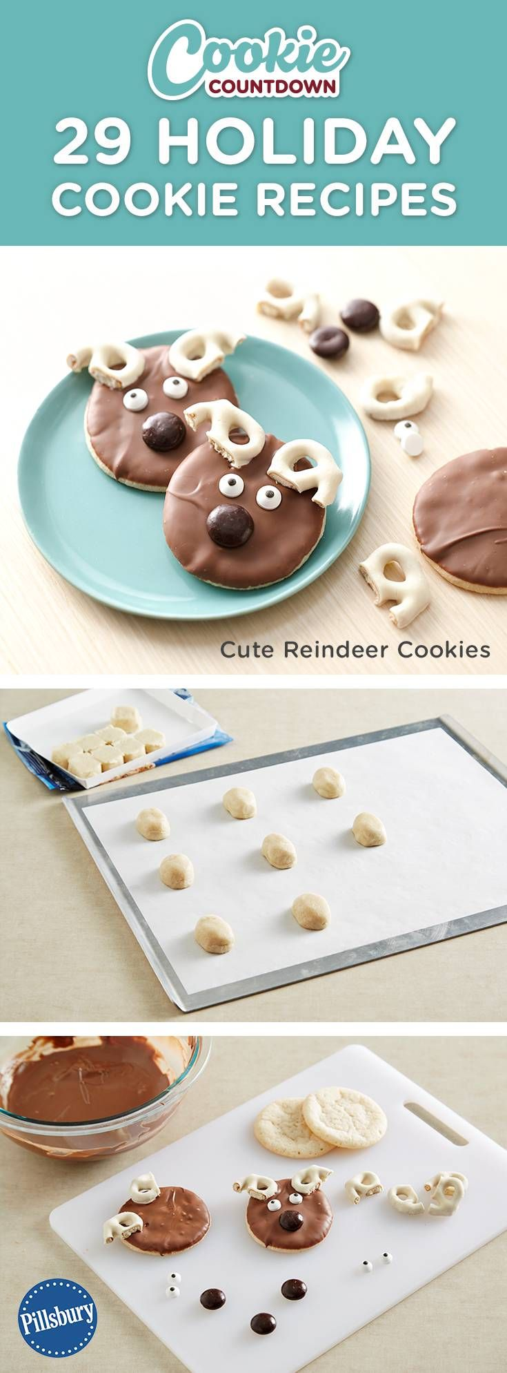 pillsbury holiday cookies baking instructions