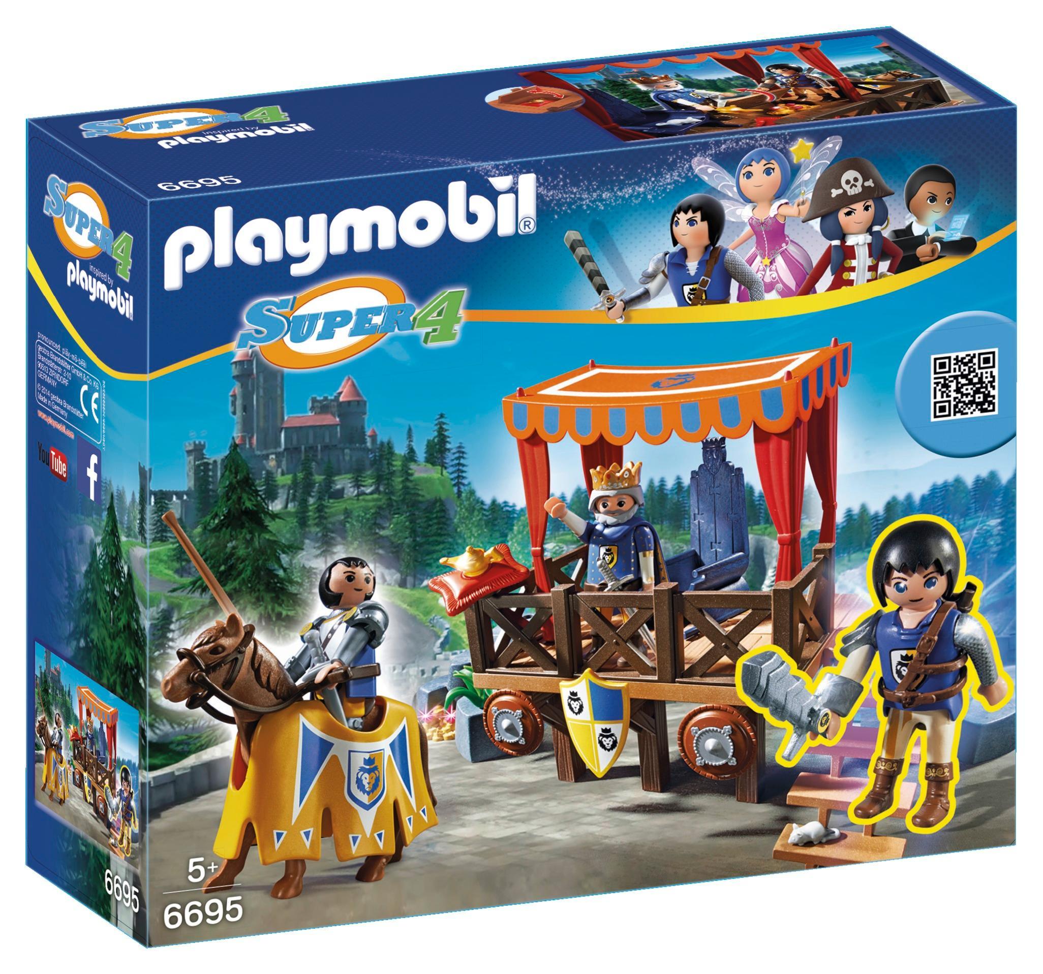 playmobil fairy castle instructions