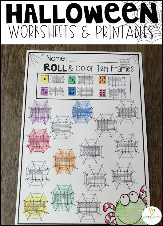 printable instructional materials for kindergarten