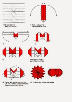 printable origami rose instructions