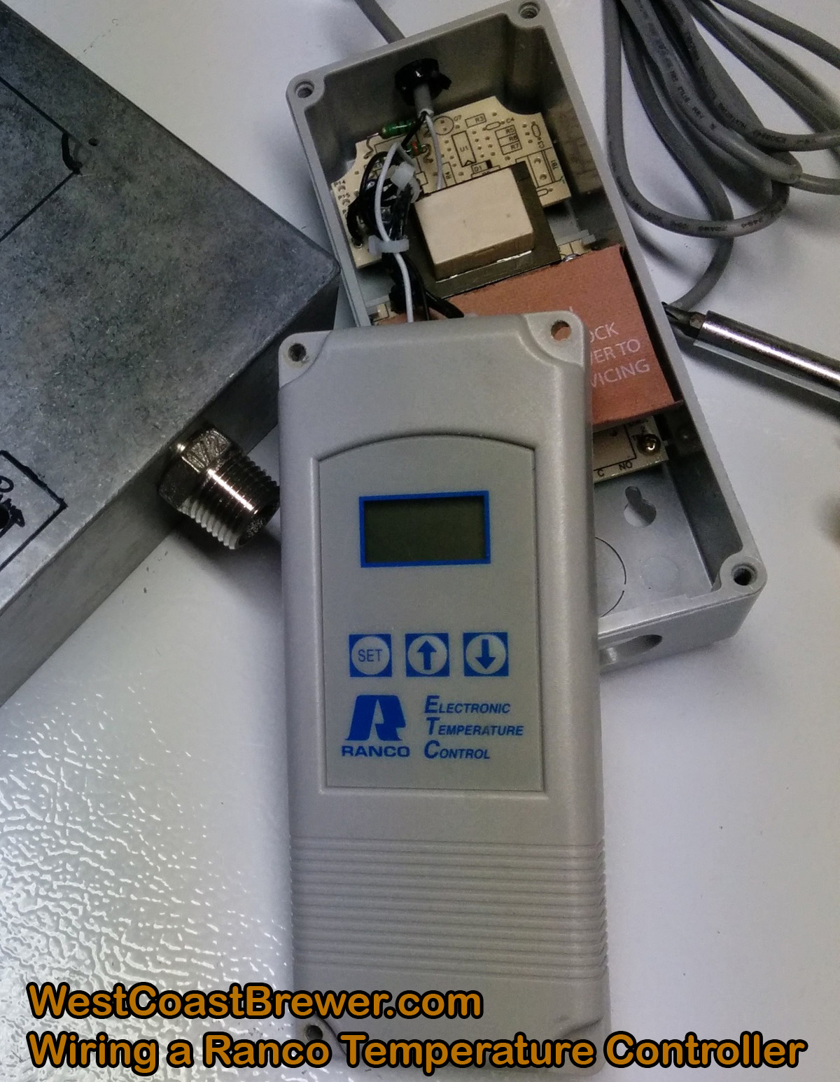 ranco temperature control instructions