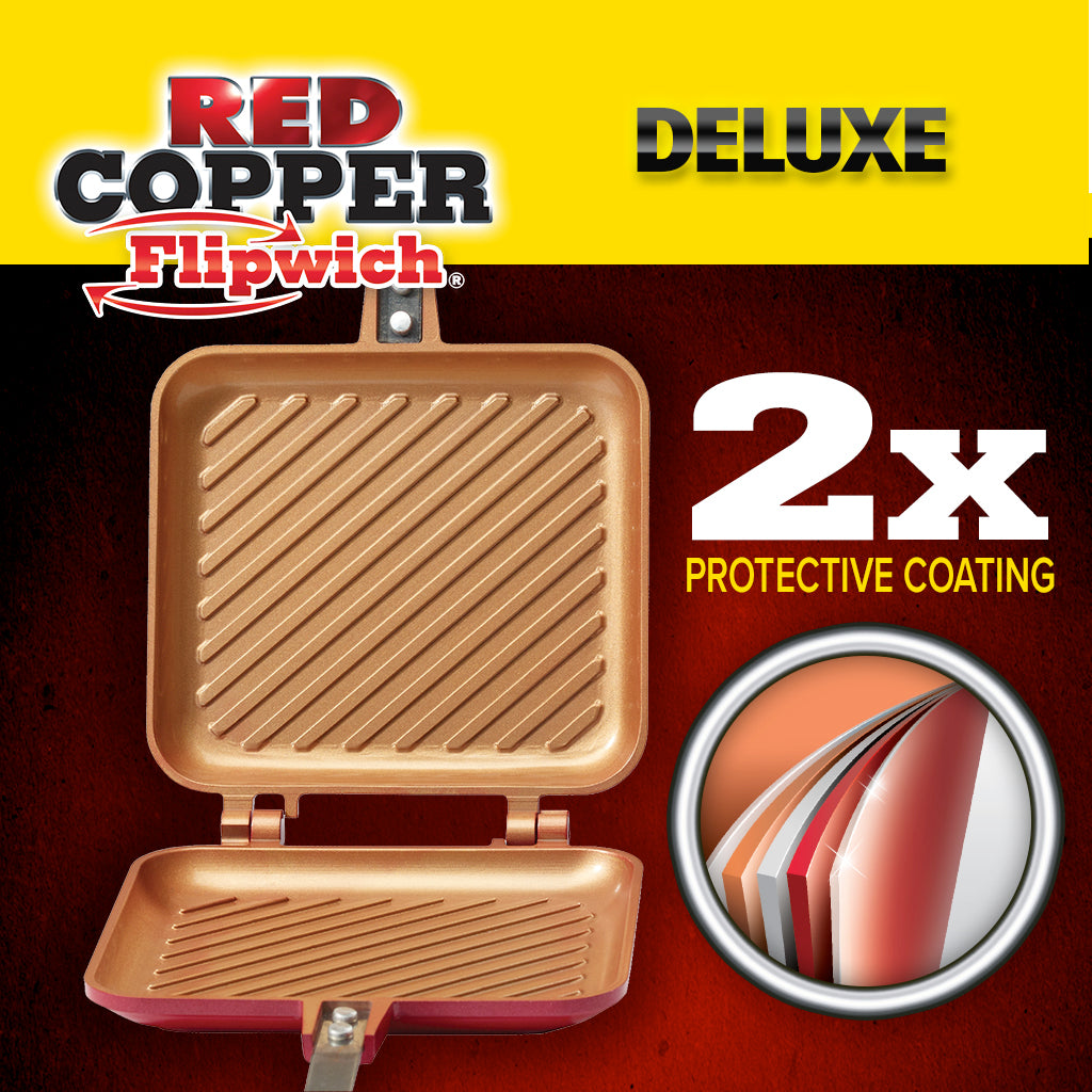 red copper pan instructions
