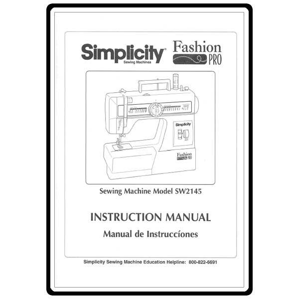 riccar 777 sewing machine instruction manual