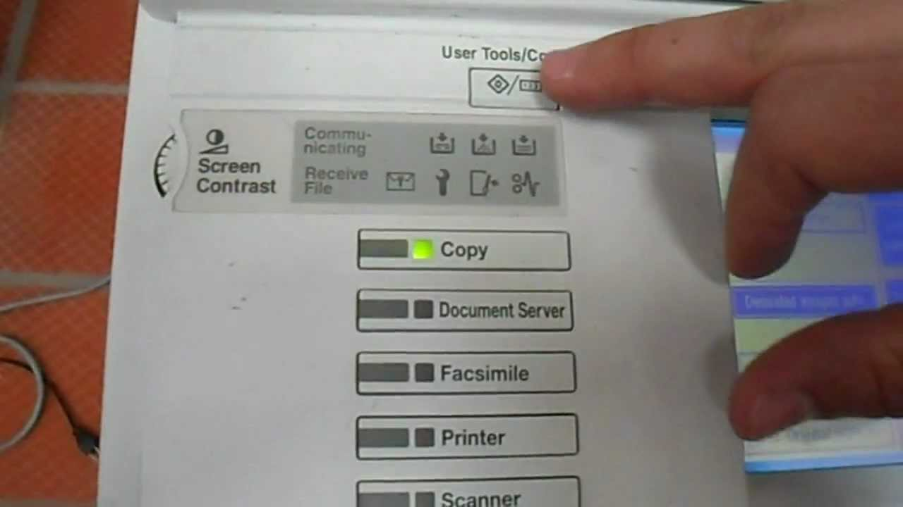 ricoh scan to folder instructions