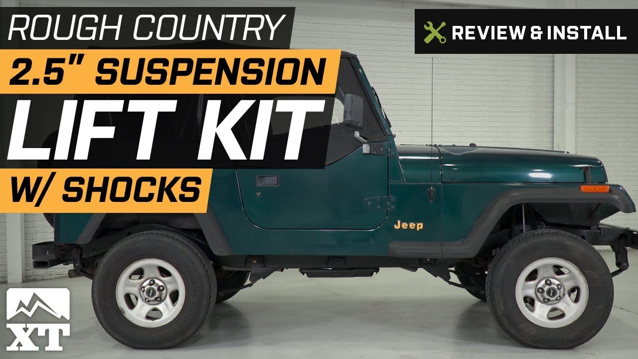 rough country 4 inch lift yj instructions