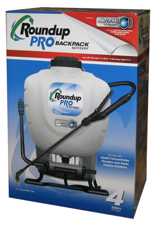 roundup professional sprayer instructions