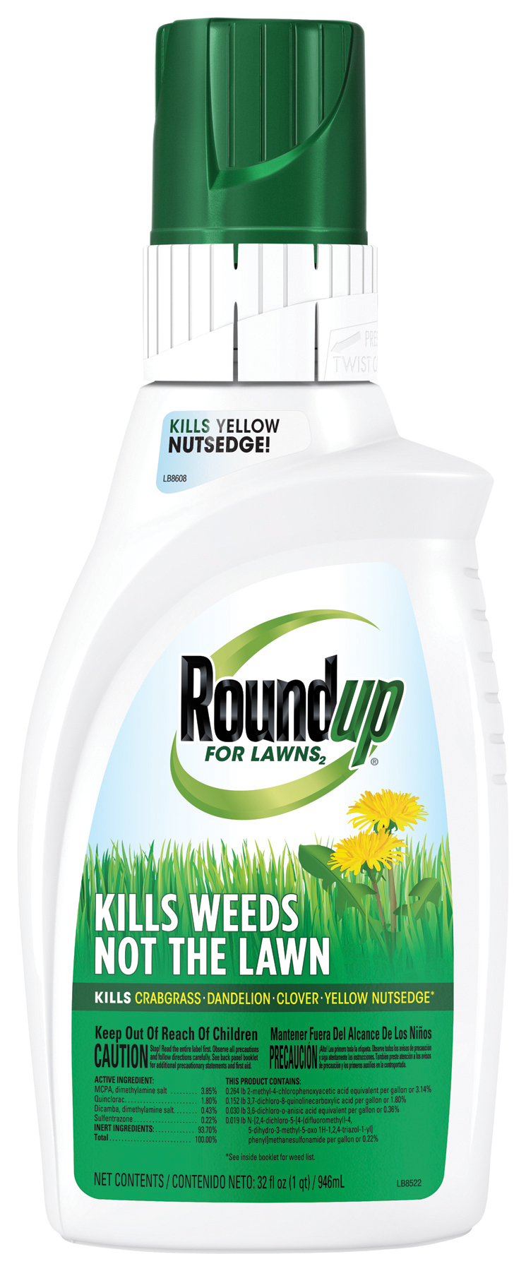roundup weed control instructions