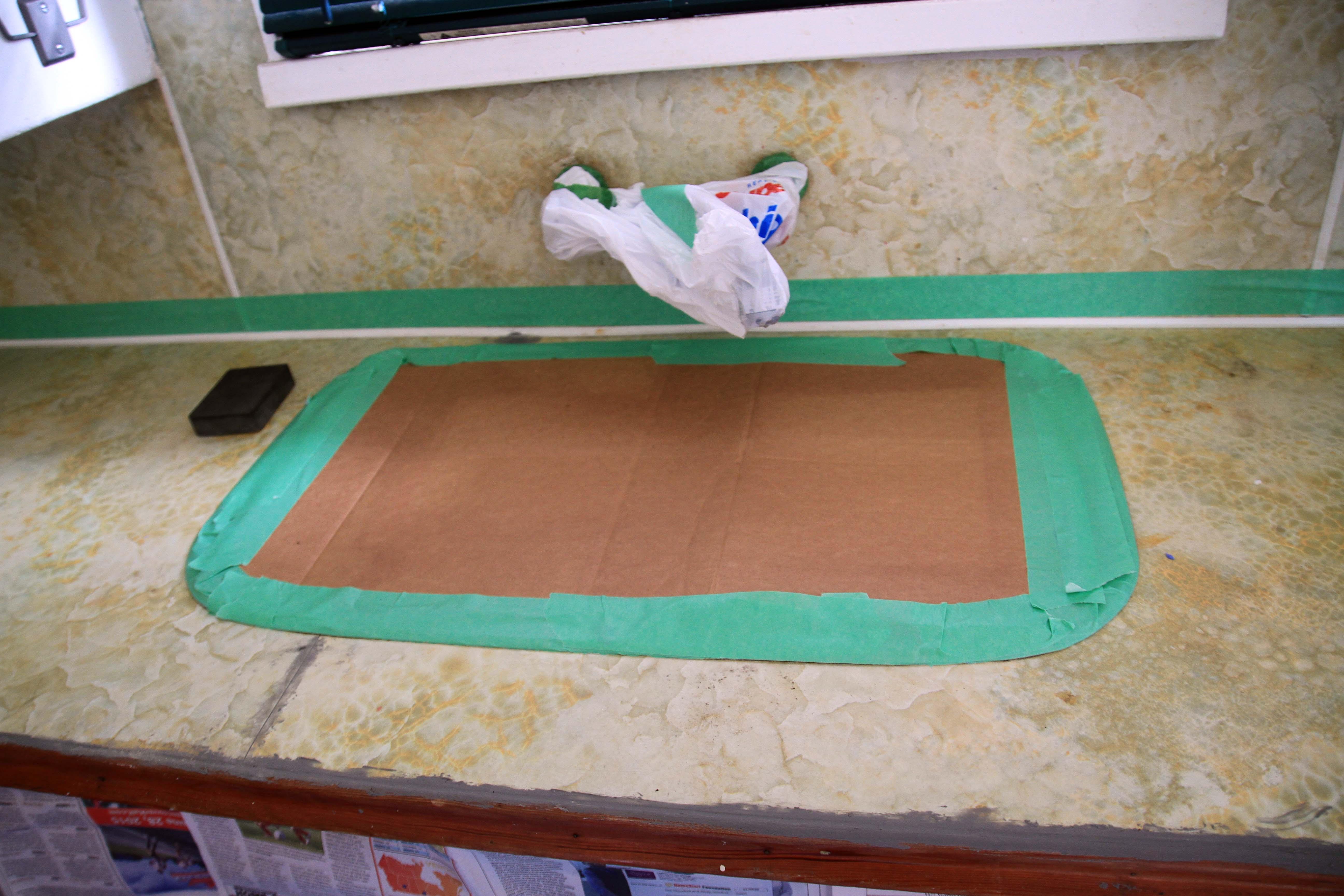 rust oleum countertop coating instructions