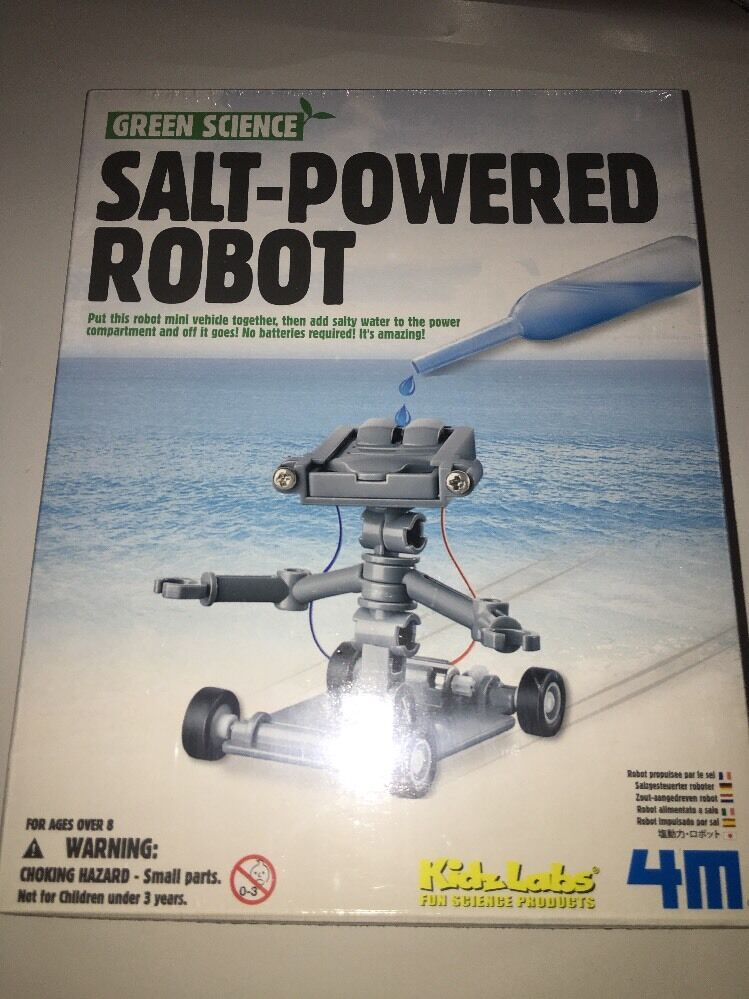 salt powered robot instructions