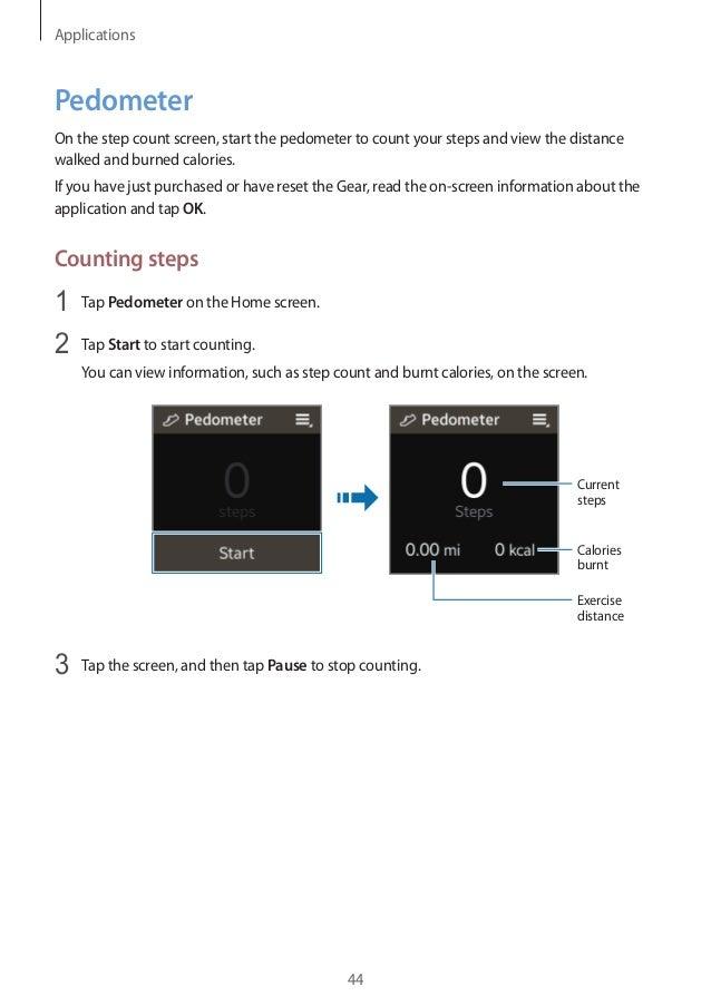 samsung gear 2 instructions