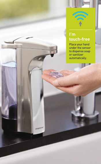 simplehuman soap dispenser instructions