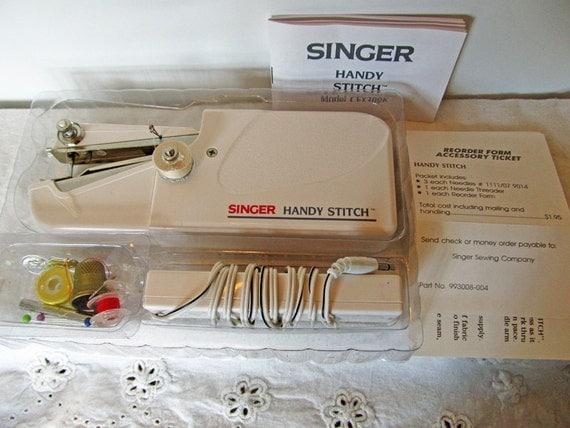 singer handy stitch instructions