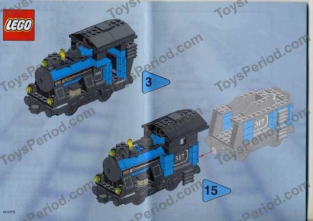 small lego set instructions