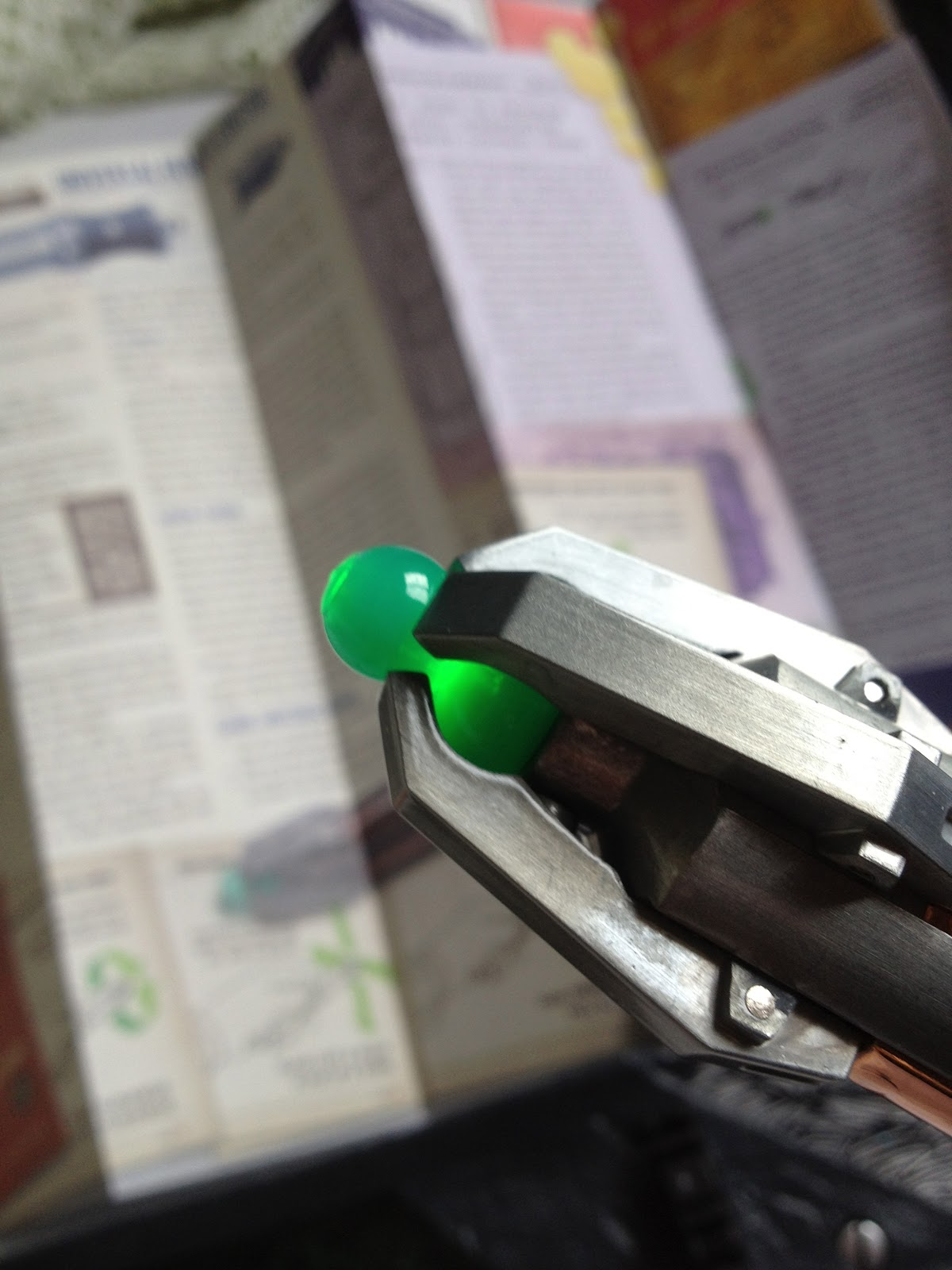 sonic screwdriver remote instructions