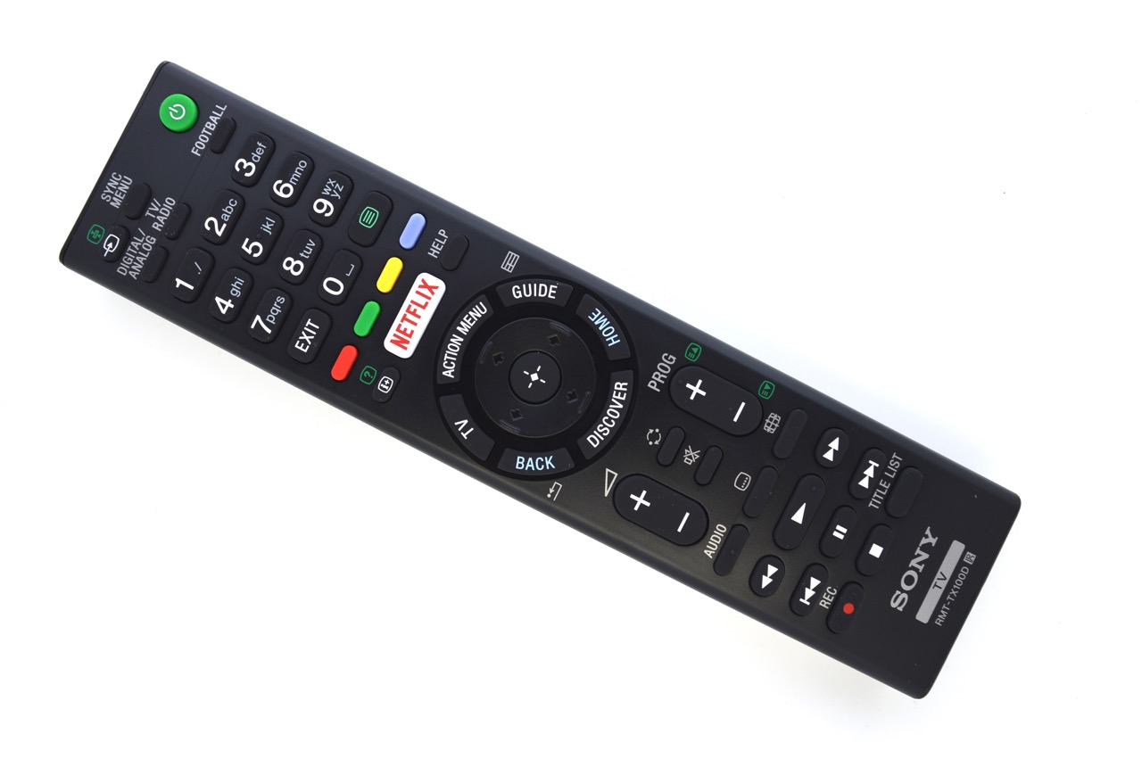 sony smart tv remote instructions