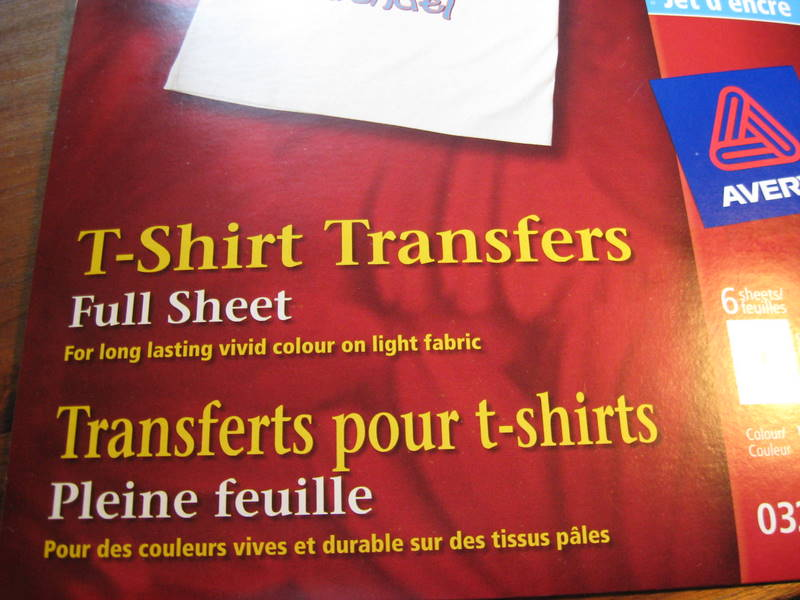 staples t shirt transfers instructions