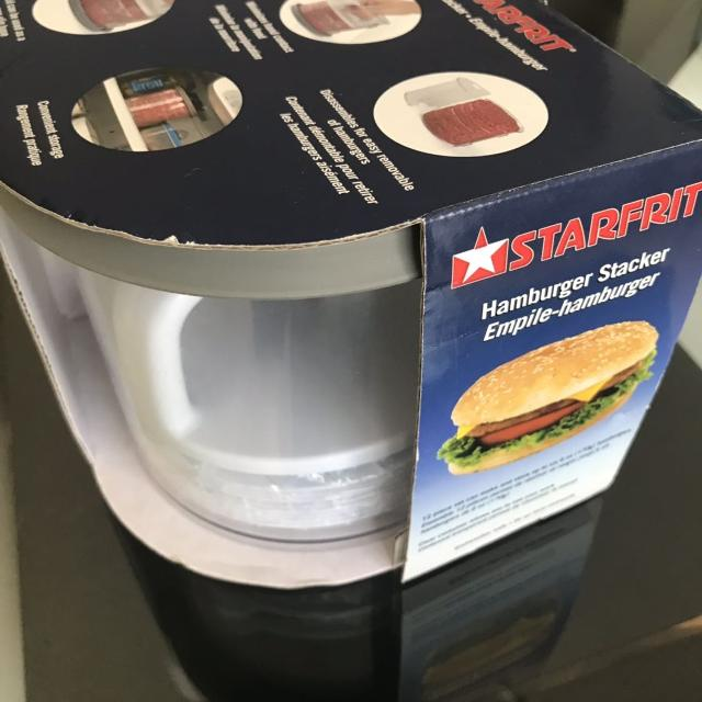 starfrit hamburger stacker instructions