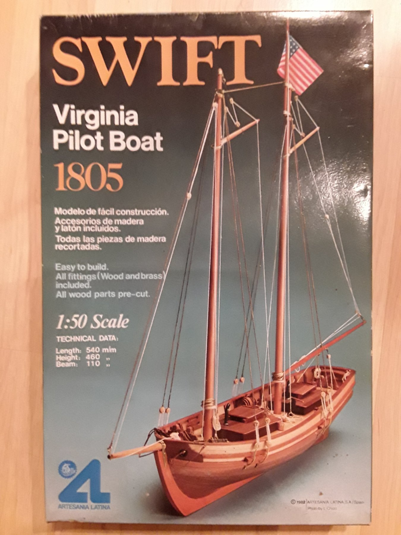 swift virginia pilot boat 1805 instructions
