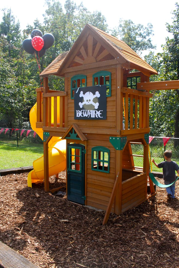 swing and slide playset instructions