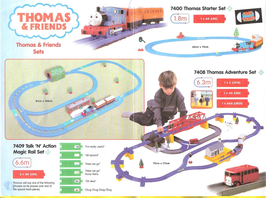thomas train set instructions